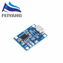 10pcs/lot TP4056 1A Lipo Battery Charging Board Charger Module lithium battery DIY MICRO Port Mike USB New Arrival