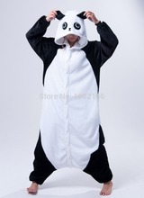 Kigurumi Adult Kungfu Panda Onesie Flannel Cartoon Sleepwear Cosplay Costume Unisex(China)
