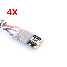 Original Repalcement 4X UFOFPV 30A 30amp BLHeli_32 2-4S Racing Brushless ESC Dshot1200 Ready 2017 new Arrival Speed Controller(China)