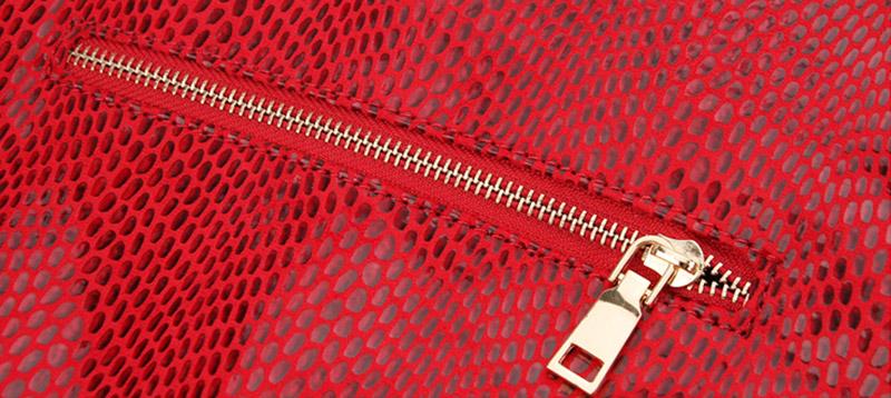 Women Snake Leather Shoulder Bag Female Serpentine Pattern Hobos Bags Tassel Big Handbag Luxury Designer Ladies Tote SS0309 (4)