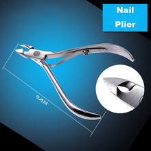 Stainless Steel Nail Manicure Nipper Cutter Plier Double Fork Cuticle Scissor for Dead Skin Manicure Pedicure Nail Care Tool