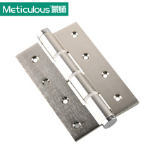 Meticulous Door Hinges Single Action Rated Self Closing hinges Adjustable Door Spring Hinge 5mm 5 Inch Butt Hinge Brushed(China)