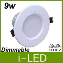 High power Led Downlight 9w dimmable Led Down Light Bulb Lamp Recessed Led 110v 220v Warm / Cool White  + Led Driver 50000h