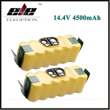 2x 14.4V 4500mAh For iRobot Roomba Ni-MH Vacuum Cleaner Rechargeable Battery for 500 550 560 600 650 700 780 800