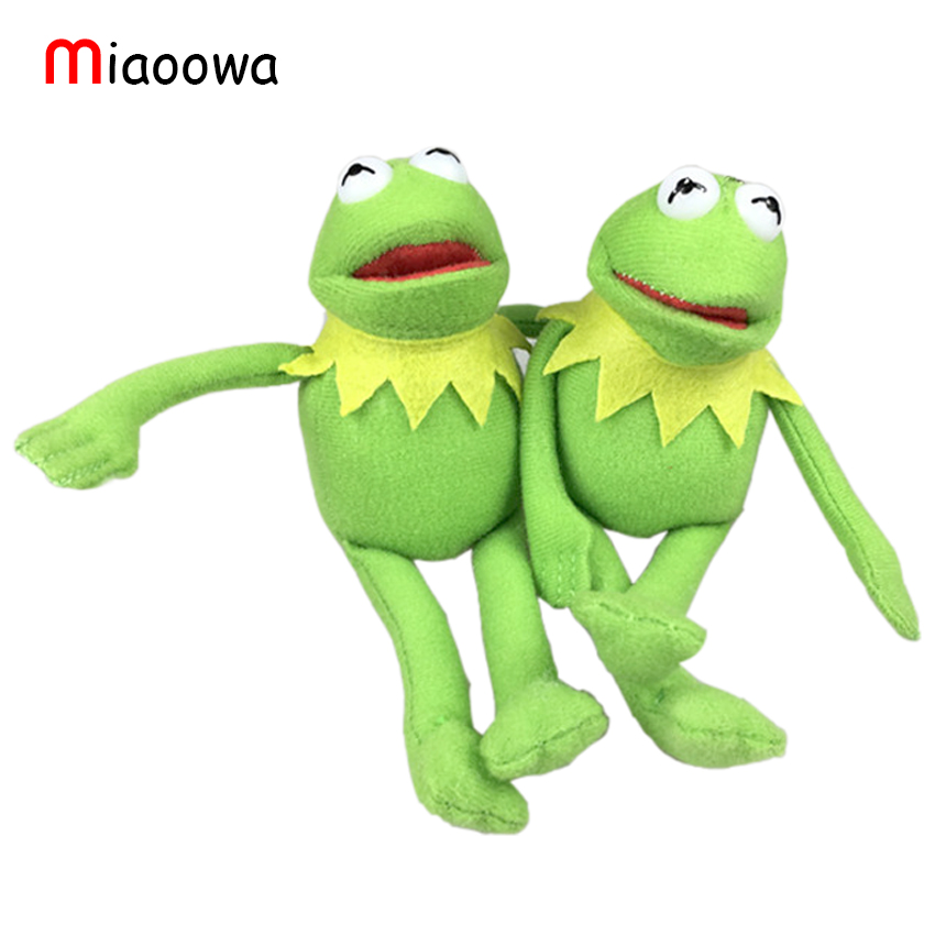 Free Shipping TY 16cm Kermit Plush Keychains Sesame Street Doll Stuffed Animal Kermit Pendant Plush Frog Doll(China (Mainland))