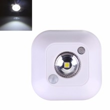 Wireless LED Ceiling Lights Infrared Human Motion Sensor Ceiling Night Light Mini luminaria Automatic Lamp(China)