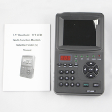 Digital Satelite Finder Dvb-s/s2 Buscador Alta Calidad For TV Shows Test Radio Monitoring Function(China)