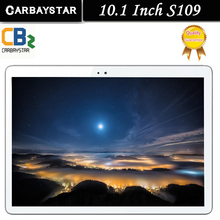 CARBAYSTAR S109 Android 6.0 tablet Pcs 10.1 inch tablet PC smartphone 4G LTE octa core 1920x1200 4+64 Dual SIM GPS IPS FM tablet