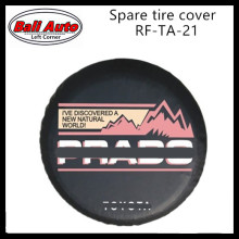 Left Corner   Factory direct sale PVC car spare wheel cover spare tire cover  RF-TA-21 accept Paypal