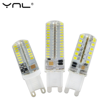 YNL 220V 240V SMD 3014 LED G9 Corn Light Bulb 3W 2W Super bright 360 degree Replace 30W Halogen Lamp mini candle spotlight(China)