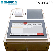 Free Software POS System Tablet PC Touch Screen POS Machine Cash Register Machine with Customer Display+Cash Box+Printer
