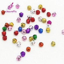 Lucia Crafts 10mm/15mm Randomly Mix Jingle Bell Pendants Hanging For Christmas Tree DIY Party Decoration 12pcs/48pcs D18021004(China)