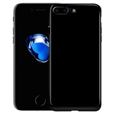 Ultra Thin Shiny Black Case For Apple 5 5s SE Luxury Shine Black Soft TPU Sillicone Phone Cases Back Cover For iPhone 6s 7 Plus
