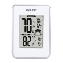 Baldr Fashion Digital LCD Display Thermometer Hygrometer Sensor Humidity Temperature Monitor Table Thermograph Weather Station