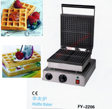 With recipe for square waffle maker, waffle oven/ 4 pcs for one time/ waffle pan/ waffle iron(China)