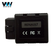 For Renault Can Clip Renault-COM Bluetooth Diagnostic Tool OBD2 OBDII Key programming / ECU Scanner Tool with Muliti-Language