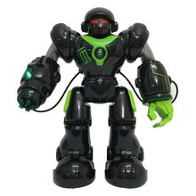 Remote Control Robot Fires Discs, Dances, Talks - Super Fun RC U-Command Robot(China)