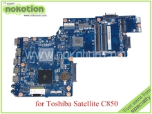 For toshiba satellite C850 C850D Laptop motherboard DDR3 CPU Onboard Mainboard H000042200