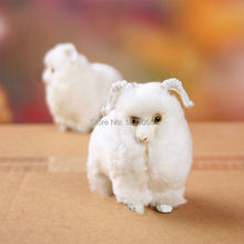 Mini Plush Sheep Kawaii Simulation Animal Doll Stuffed Toys For Kids Birthday Gifts Doll Decorations Stuffed Animal
