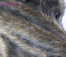 High quality faux fur fabric, Imitation peacock feathers plush fabric,DIY hand cloth,felt craft