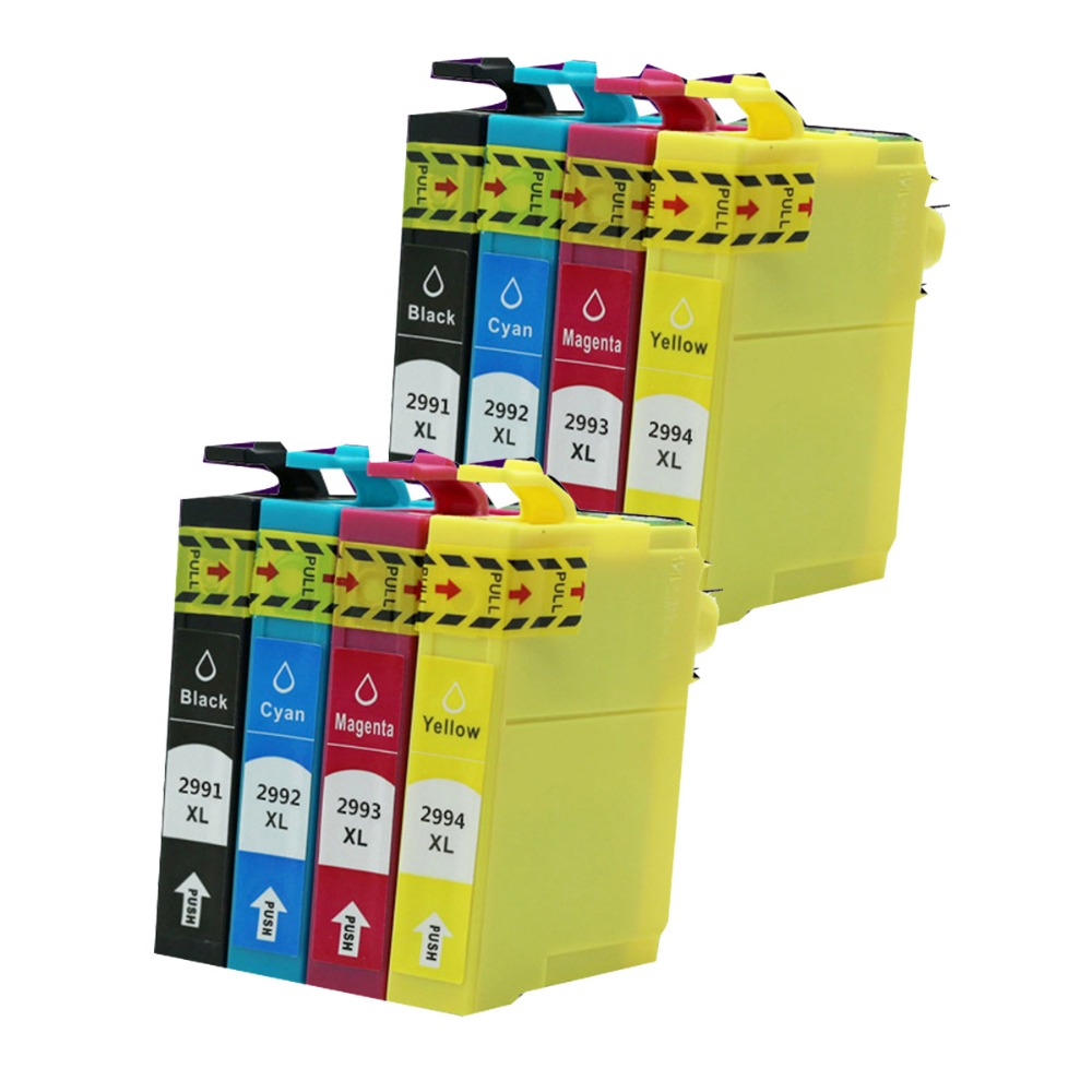 8x T2991 Ink Cartridges Non-OEM for 29XL Epson XP235,XP332,XP335,XP432,XP435 Printer<br><br>Aliexpress