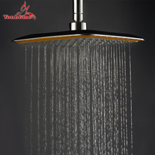 8 inch Shower Head Bathroom Showers Rotate 360 degree Stainless Steel Hand Held Showerhead Sprayer Large Rainfall Shower Head