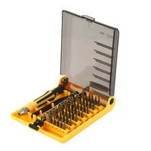2016 Hot SK-1196 45 in 1 Screwdriver Set Precision Repair Tools Stainless Tool for Cell Phone for iPhone for Notebook