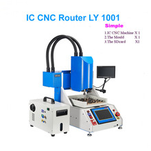 Factory price, CNC Engraving Polishing Milling Machine for iPhone Main Board Repair, IC CNC Router Simple kit