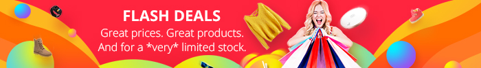 Great prices. Great products. And for a *very* limited stock.