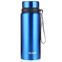 Nu Unbreakable High Quality Double Wall Vacuum Insulated Stainless Steel Travel Water Thermo Flask Bottle for Sports, Wide Mouth
