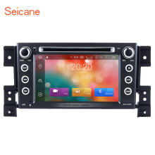 "Seicane Car Stereo DVD Radio 7"" Bluetooth Android 6.0  GPS Navi Stereo for 2005-2013 Suzuki Grand Vitara with Touchscreen SWC"