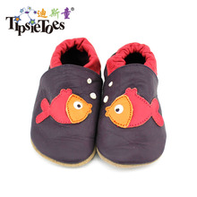 Free Shipping Genuine  Leather Baby Shoes lovely fish styles Moccasins Newborn Shoes Soft Infants Crib  Sneakers First Walker