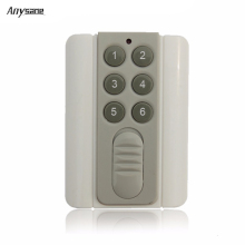 Universal 12V 433MHz/315MHz 4CH 6CH RF remote control,learning code EV1527,rf remote control for home device alarm remote switch
