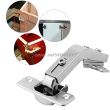 135 Degree Corner Folded Silver Cabinet Door Hinges Bathroom Kitchen Cupboard #G205M# Best Quality