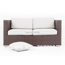 2017 Outdoor Furniture Breathing Sofa Environmental Bedroom Furniture Rattan Love Sofa