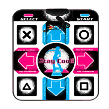 USB RCA Non-Slip Dancing Step Dance Mat Pad for PC TV AV Video Game