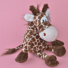 35cm NICI Brown Color Giraffe Plush Toy, Baby Gift, Kids Toy Wholesale with Free Shipping