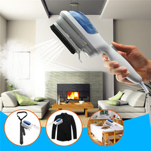 800W Portable Handheld Electric Fabric Iron Laundry Clothes Steam Brush For Home Travel Dry-cleaning Hair Dust Remover US Plug