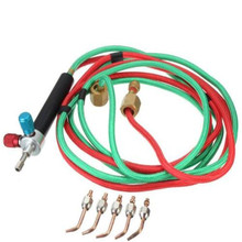 DZ805 new Jewelry Jewelers Micro Mini Gas Little Torch Welding Soldering kit +5 tips(China)