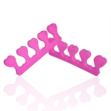 1049-Soft Sponge Foam Finger Toe Separator Nail Art Salon Pedicure Manicure Tool Feet Care