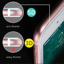 5D Xiaomi Redmi 5plus note5 6pro A2 Glass Full Cover Film Screen Protector Redmi Note4x 5a S2 Mi6 A1 456A Tempered Glass
