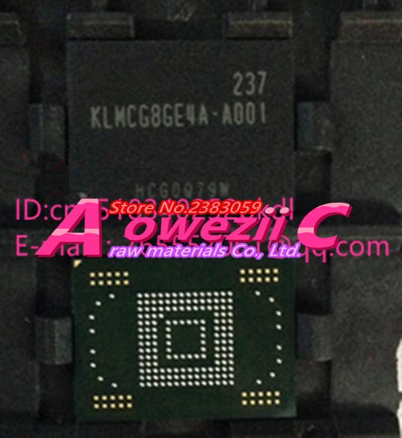 Aoweziic (1PCS) (2PCS) (5PCS) (10PCS)  100%  new original   KLMCG8WE4A-A001   BGA   memory chip  KLMCG8WE4A A001<br>