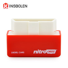 kingbolen NitroOBD2 Chip Tuning Box Plug & Drive OBD2 performance Diesel Car more Power more Torque Nitro OBD Diesel Box 200km(China)