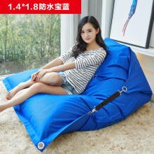 Modern Beanbag Sofa Living Room Furniture Sofas Bean Bag Chair For Living Room Fashion Leisure Royal Blue Bean Bag Sofas