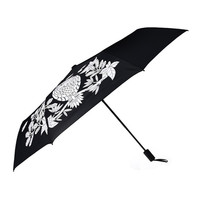 Animal Owl Printed Folding Umbrella Changing Parasol Windproof Sun Protection Clear Rain Black Coating Color Umbrellas