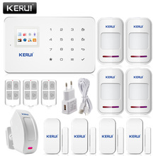 KERUI G18 English Voice GSM Autodial Home Security Fire Alarm System+iOS App/ Android App Alarmes