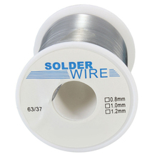 Solder Wire 200g 1.0mm Welding Wire Tin Wires 63/37 Rosin Core Solder Good Welding-ability Flux 1.8% for Electrician DIY HXS09(China)