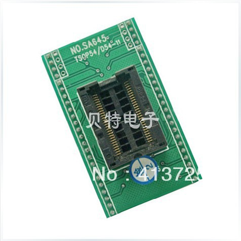 Import block TSOP54 burn IC, SA645 test socket adapter adapter program<br><br>Aliexpress