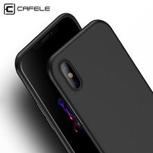 CAFELE Original NEW case for iphone X cases Ultra Thin 6 colors PP Fashion Transparent back case for Apple iphone 7 8 plus shell