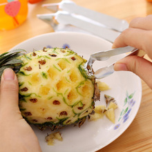 pineapple knife ananas  Peeler for Pineapple Eye to pick up the Ananas Seed Pineapple slicer Fruit  Vegetable Tools